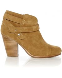 Rag & Bone Brown Harrow Suede - Lyst