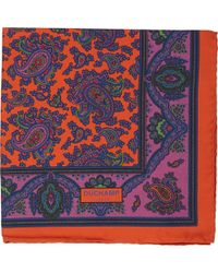 Duchamp - Lord Paisley Pocket Square - Lyst