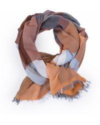 7 For All Mankind - Check Scarf - Lyst