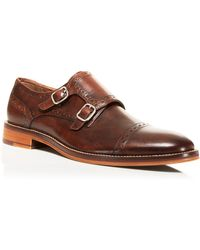 Johnston & Murphy - Conard Double Monkstrap Oxfords - Lyst