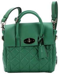 Mulberry Green Lambskin Mini 'Cara Delevingne' Convertible Shoulder Bag - Lyst
