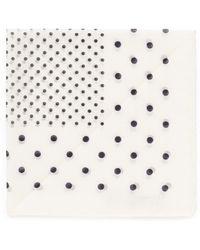 Alex Mill Polka Dot Pocket Square - Lyst