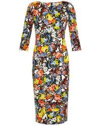 Erdem Joyce Floral-Print Dress multicolor - Lyst