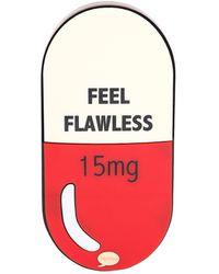 Yazbukey - Feel Flawless Pill Perspex Clutch - Lyst