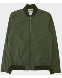 Norse Projects - Ryan Crisp Cotton Jacket Dried Olive - Lyst