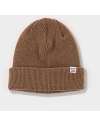 Norse Projects - Norse Beanie - Camel - Lyst