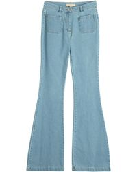 Michael Kors Flared Jeans - Lyst