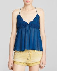 Free People Top - Birds In The Sky - Lyst