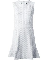 Marc By Marc Jacobs Leyna Dotty Ponte Dress - Lyst