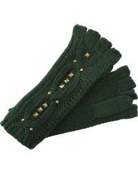 Steve Madden Stud Muffin Fingerless Glove - Lyst