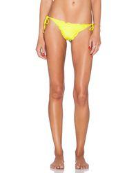 ViX Ripple Tie Side Bikini Bottom - Lyst