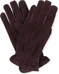 Brunello Cucinelli | Suede Gloves - For Men | Lyst
