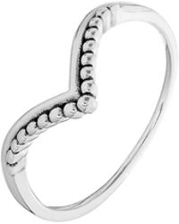 Accessorize - Sterling Silver V-shaped Ring - Lyst