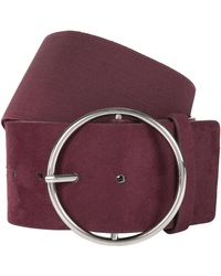 Accessorize - Round Buckle Waist Belt - Lyst