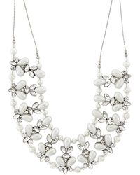Accessorize - Sasha Round Necklace - Lyst