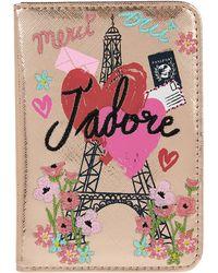 Accessorize - J'adore Paris Passport Holder - Lyst