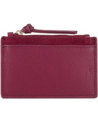 Accessorize - Shoreditch Leather Card Holder - Lyst