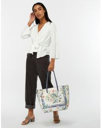Accessorize - Vintage Printed Floral Tote Bag - Lyst