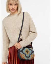 Accessorize - Paddy Patchwork Saddle Bag - Lyst