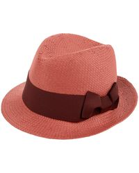 Accessorize - Bow Panama Hat - Lyst