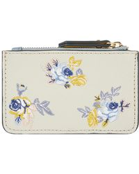 Accessorize - Eloisa Embroidered Card Holder - Lyst