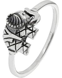 Accessorize - Sterling Silver Elephant Ring - Lyst