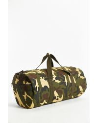 Rothco Woodland Camo Canvas Duffel Bag - Lyst