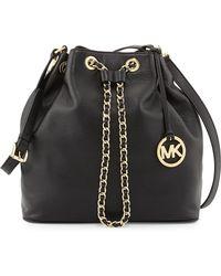 Michael Kors Michael Large Frankie Drawstring Shoulder Bag - Lyst