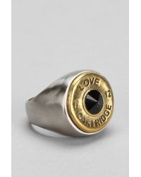 Urban Outfitters - Lovebullets Twotone Love Cartridge Ring - Lyst