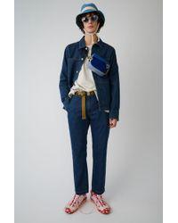 Acne Studios - Denim Trousers indigo Blue - Lyst