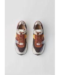 Acne Studios - Vintage Running Trainers brown - Lyst