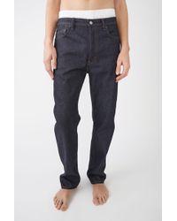 Acne Studios - Loose Fit Jeans - Lyst