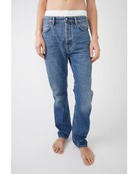 Acne Studios - Loose Fit Jeans - Lyst