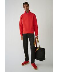 Acne Studios - Fairview Face tomato Red - Lyst