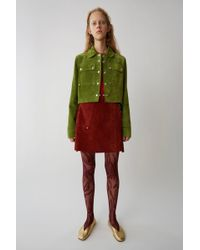 Acne Studios - Apron Wrap Skirt gaucho Red - Lyst