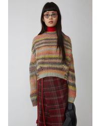 Acne Studios - Ribbed Jumper multi - Lyst