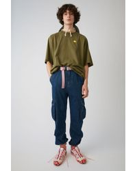 Acne Studios - Cargo Trousers indigo Blue - Lyst