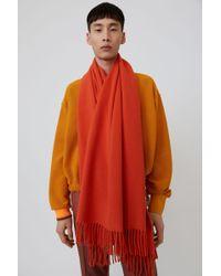 Acne Studios - Fringed scarf - Lyst