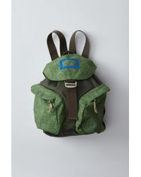 Acne Studios - Backpack green - Lyst