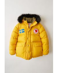 Acne Studios - Expedition M A/f Sunflower Yellow Reversible Down Jacket - Lyst
