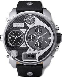 Diesel Two-tone Chronograph Watch - Lyst
