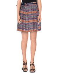 Please | Knee Length Skirt | Lyst
