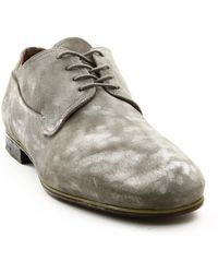 Premiata Grey Shoes With Washed-Out Effect - Lyst