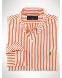Polo Ralph Lauren Slim-fit Bengal-striped Shirt - Lyst