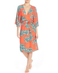 MINKPINK - 'under Your Spell' Floral Robe - Lyst