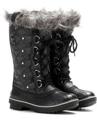 Sorel Tofino Leather And Rubber Boots - Lyst