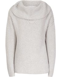 Reiss | Langley Chunky Roll-neck Jumper | Lyst