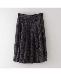 Sea Button Up Long Skirt - Lyst