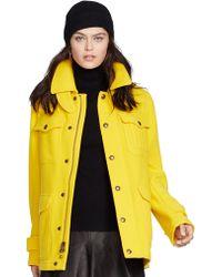 Polo Ralph Lauren Wool Blend Thicket Coat - Lyst