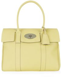 Mulberry Bayswater Classic Grain Tote - Lyst
